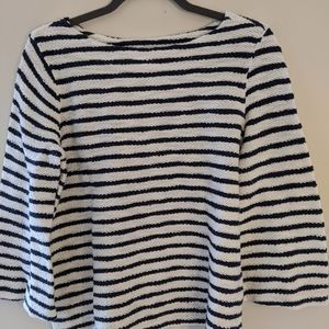 Black and White Timeless Stripped Knit